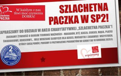 Akcja charytatywna SZLACHETNA PACZKA.